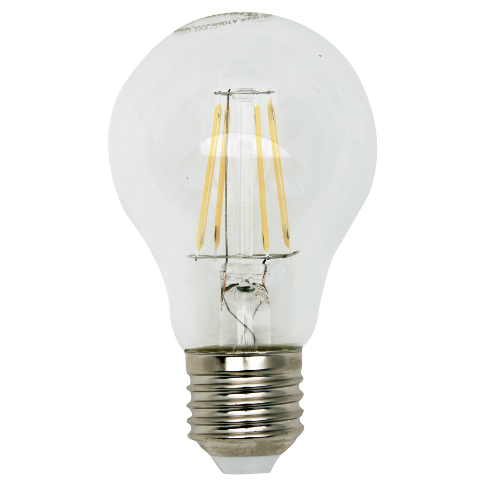 Led Glühlampe Filament E27 5 Watt Warmweiß Online