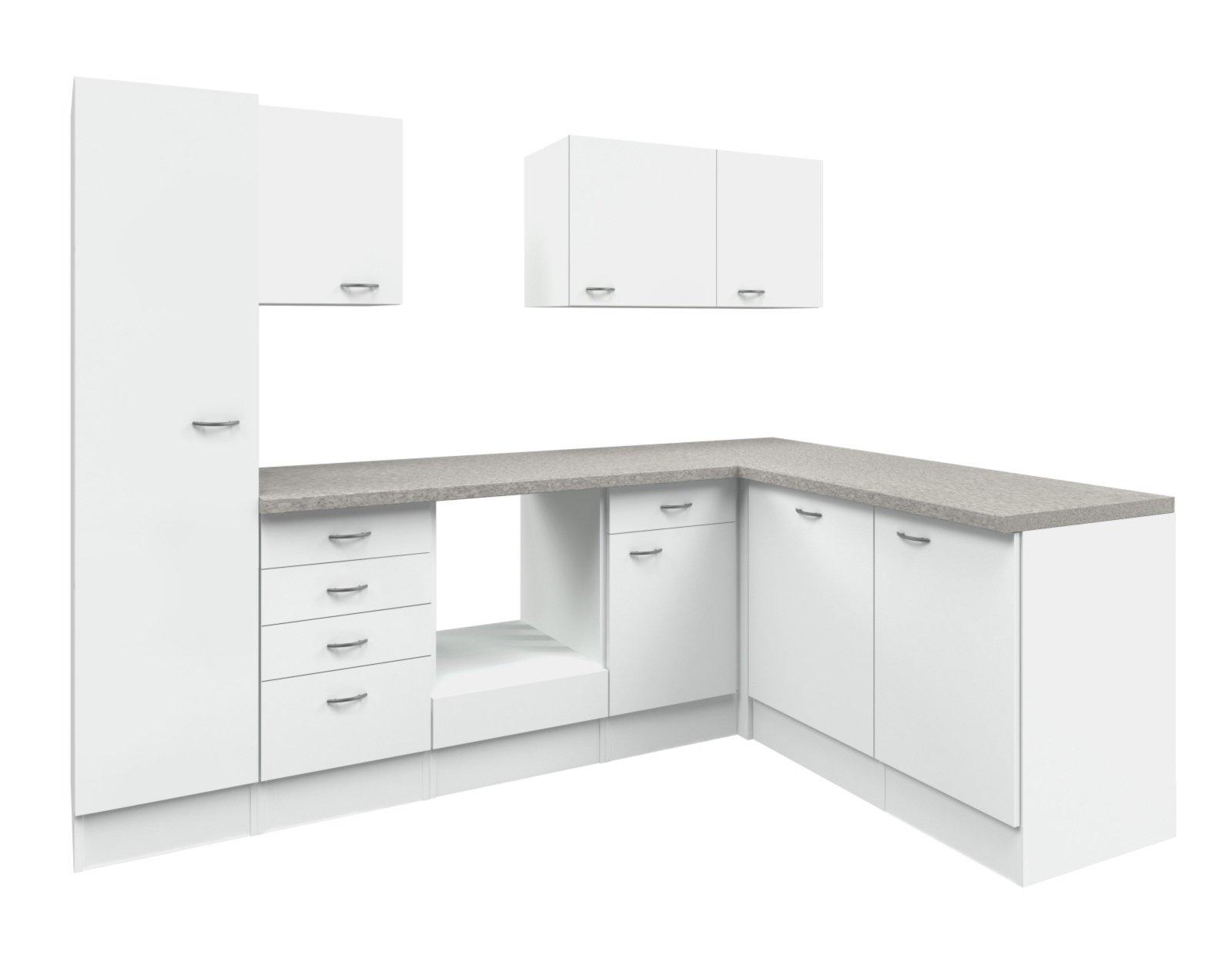 Schau Mal Was Ich Bei Roller Gefunden Habe Winkelküche Wito Weiß Grau  270x170 Cm