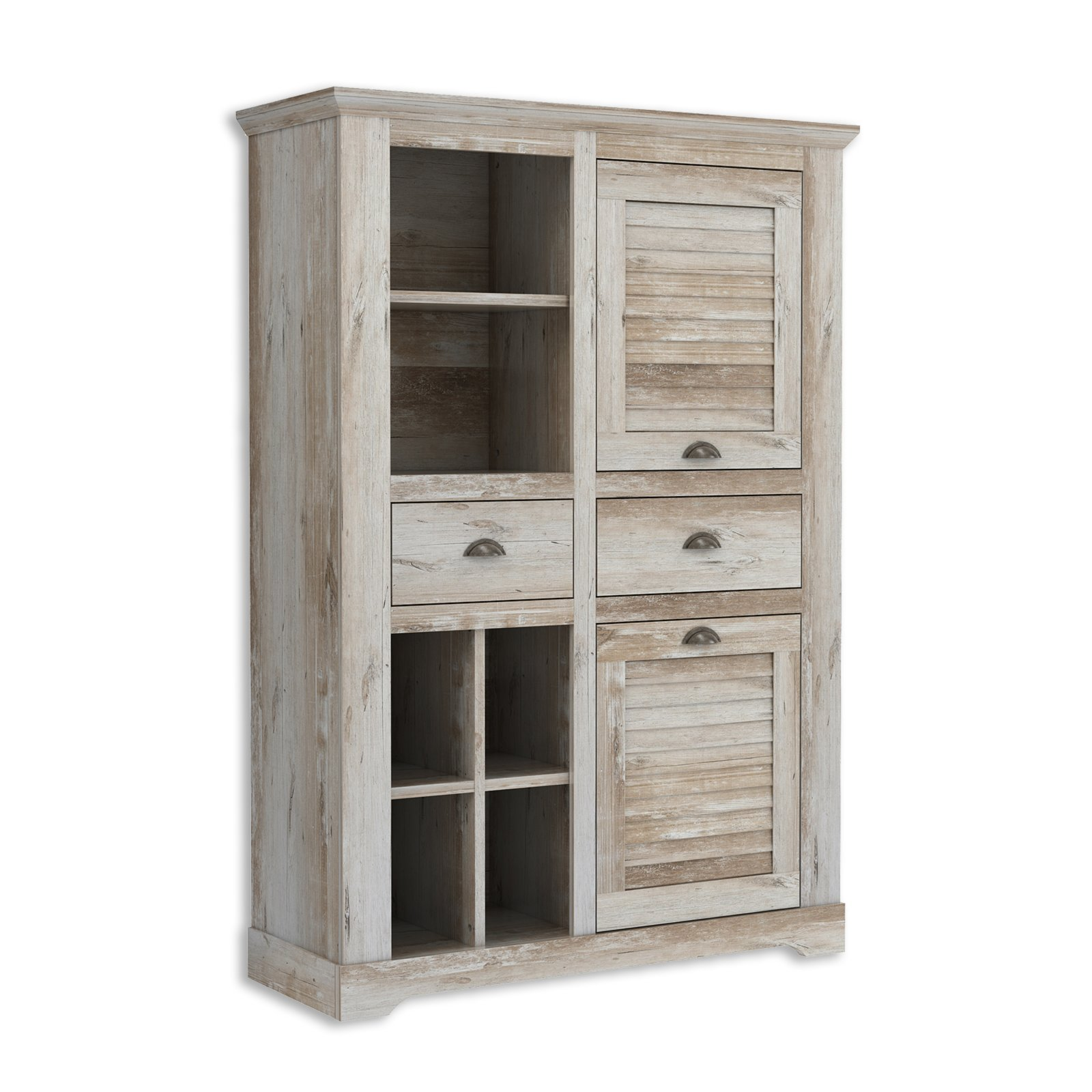 Highboard 120 Cm Breit Highboard Medina Findus Optik 120 Cm Breit