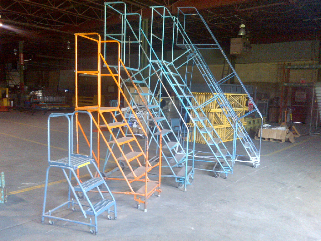 Rollingladdersca New And Used Rolling Ladders