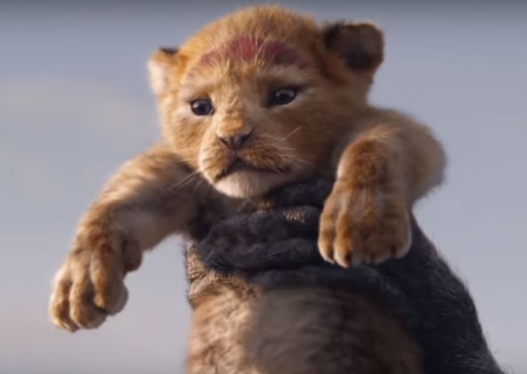 cast of the lion king movie 2019 trailer