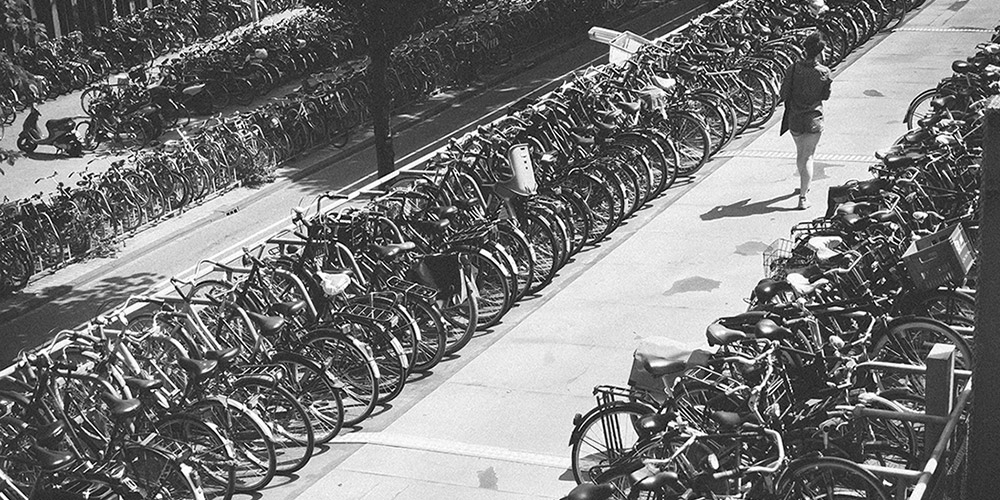 12 Bicycle Observations in Amsterdam