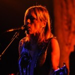 Kim Gordon of Sonic Youth at All Tomorrow's Parties New York 2010, Monticello, New York. Photo by Jason Persse/Flickr.