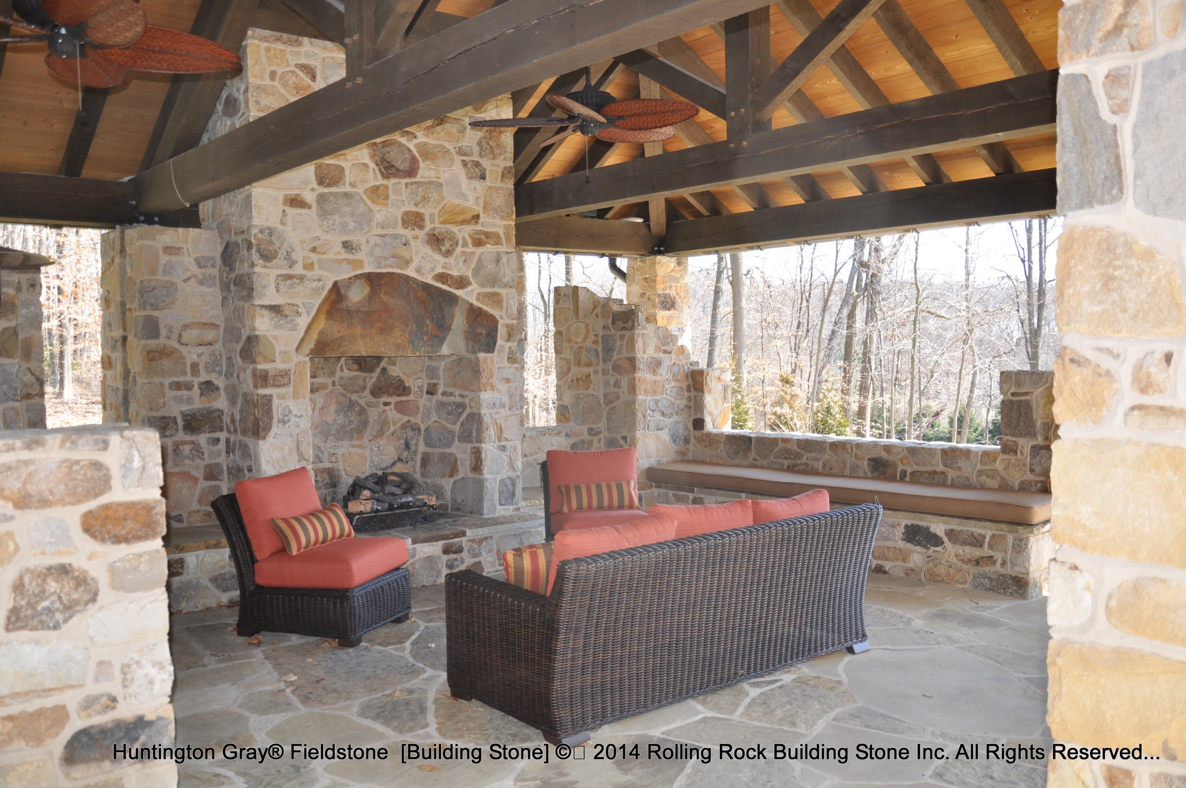 Huntington Home Products Huntington Gray Rolling Rock Building Stone Inc