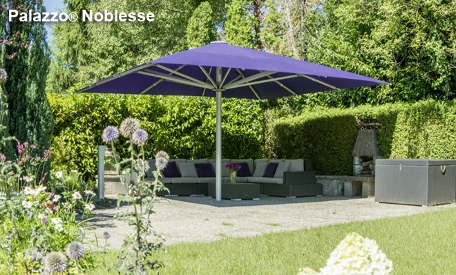 Schirm Terrasse Giant Umbrellas | Rolltec® Retractable Awnings | Toronto