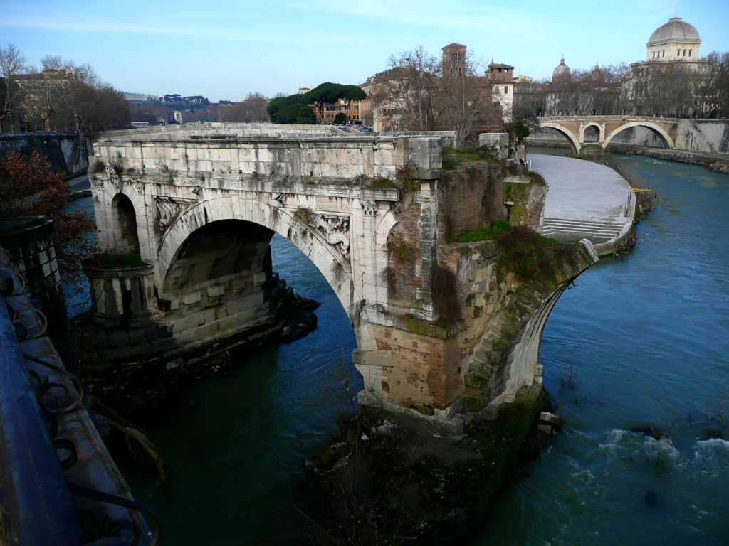 Il Ponte Just Eat The Importance Of The Tiber River Romality