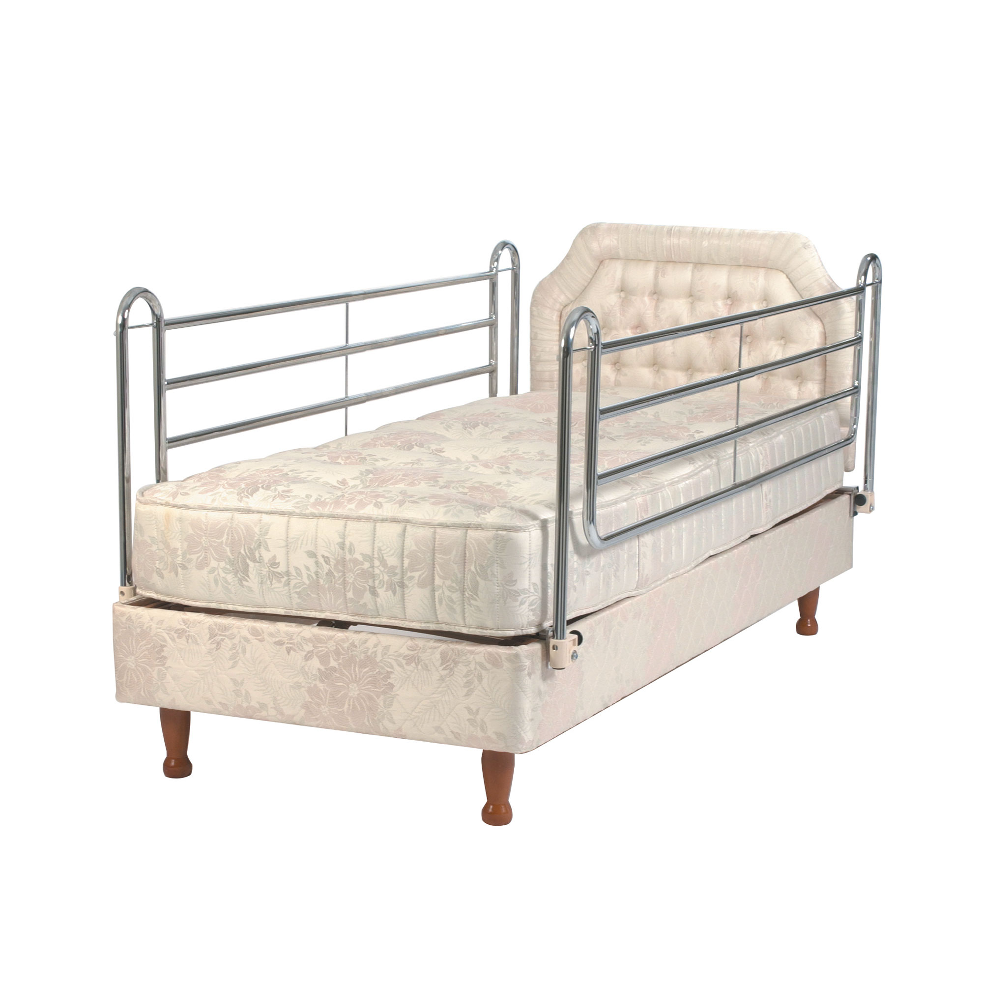 Bed Aids 5410 Extra High 4 Bar Bed Rails Divan Type Roma Medical