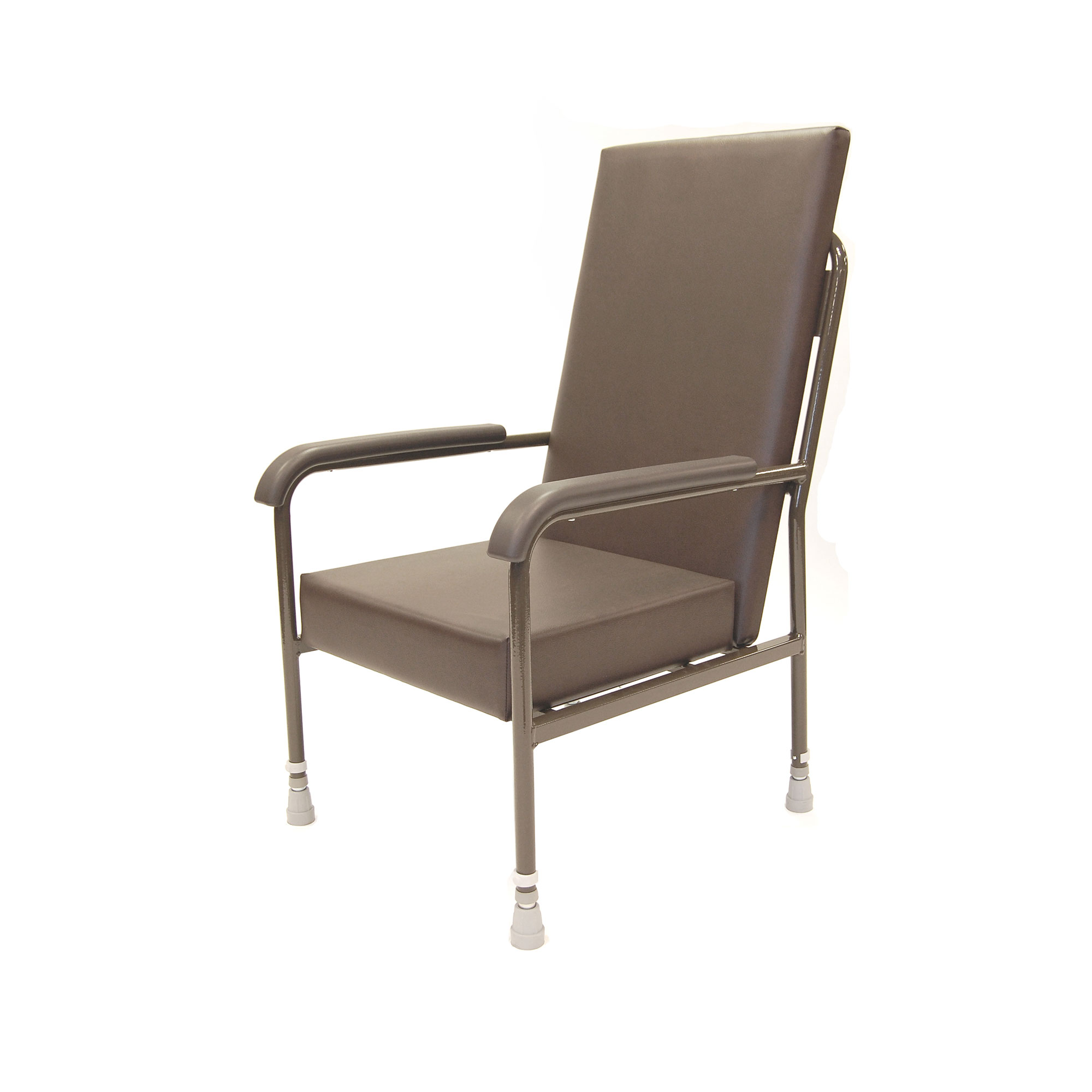 5718 High Back Vinyl Upholstery Chair Without Wings