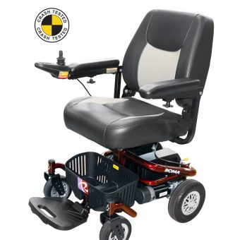 reno II powerchair crash tested
