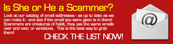 Romance Scammer Email Address List