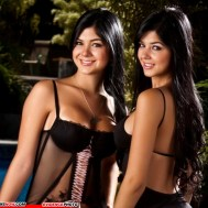 KNOW YOUR ENEMY: Mariana And Camila Davalos Twins - Favorites Of African Scammers Image/Photo