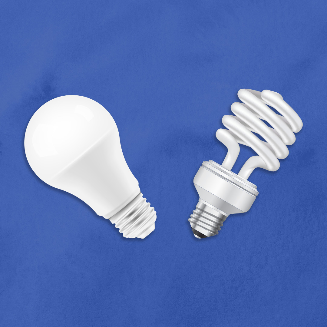 Incandescent Lamp Vs Fluorescent Lamp Leds Vs Fluorescent Bulbs Which Is Better Roman Electric