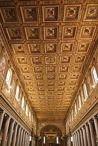 Rome Basilica of St. Mary Major or Santa Maria Maggiore in ...