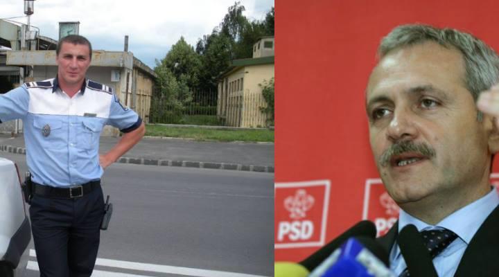Polițistul Marian Godina atacat de Liviu Dragnea cu … o minciună cât casa.  Teleormanizarea ne așteaptă