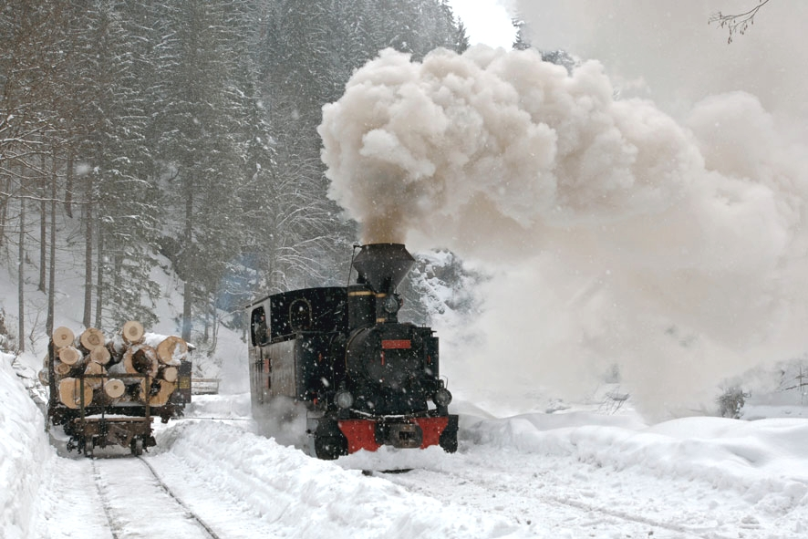 1440p Fall Wallpaper Romania Winter Landscape Old Train Maramures Pictures