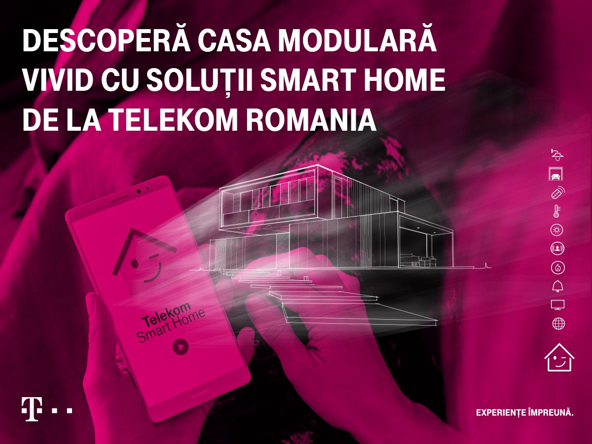 Smart Home Telekom The First Modular Smart House In Romania Has Been Launched