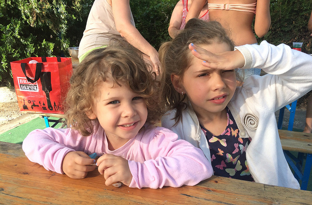 A holiday with my daughters