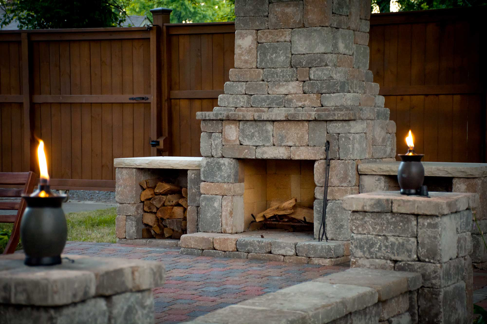Make Your Own Outdoor Fireplace Diy Outdoor Fremont Fireplace Kit Makes Hardscaping Simple