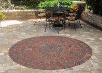 Circle Paver Patio Kits - Frasesdeconquista.com
