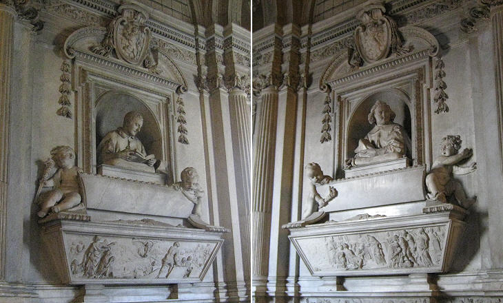 Small Stool Three Chapels By Gian Lorenzo Bernini - Cappella Raimondi