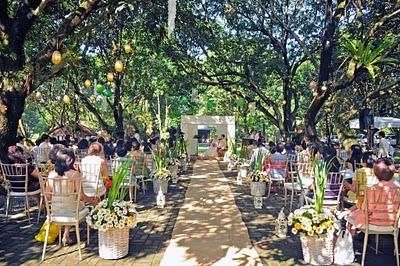 Nature themed wedding