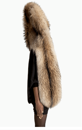fur headdress