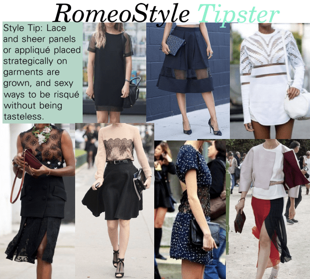 romeostyle sheer style tips 2