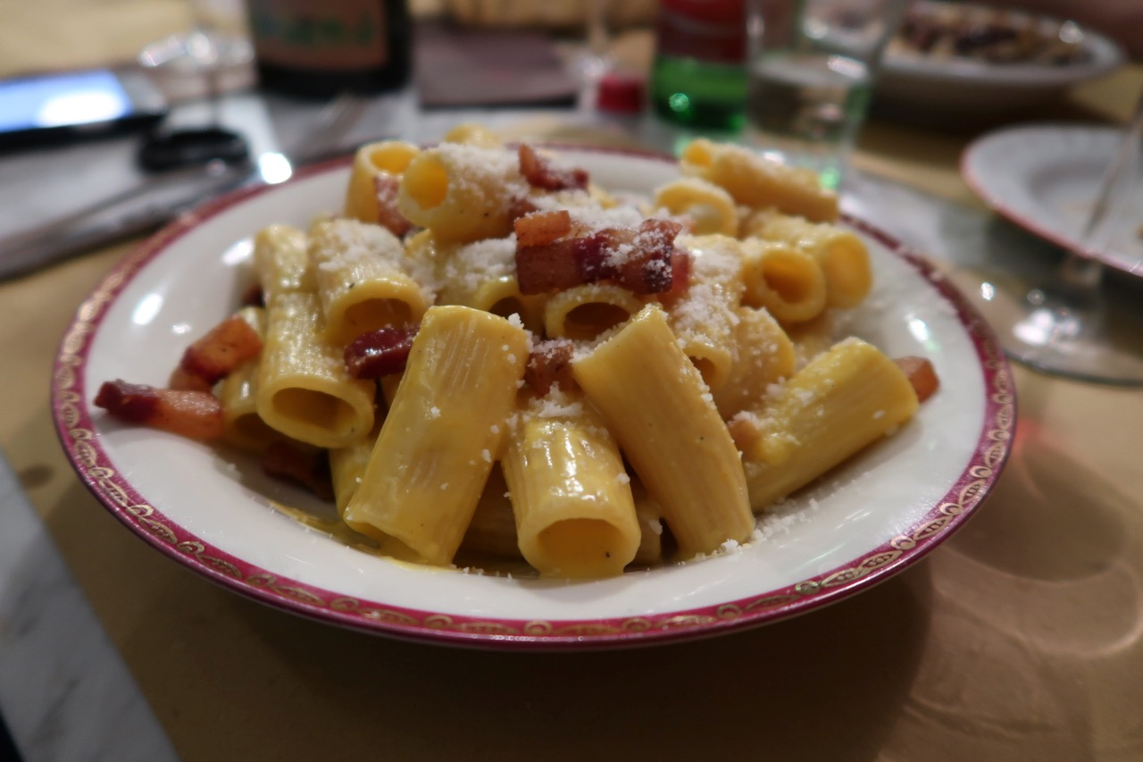 Antica Cucina Penne Best Carbonara In Rome Know Where To Go