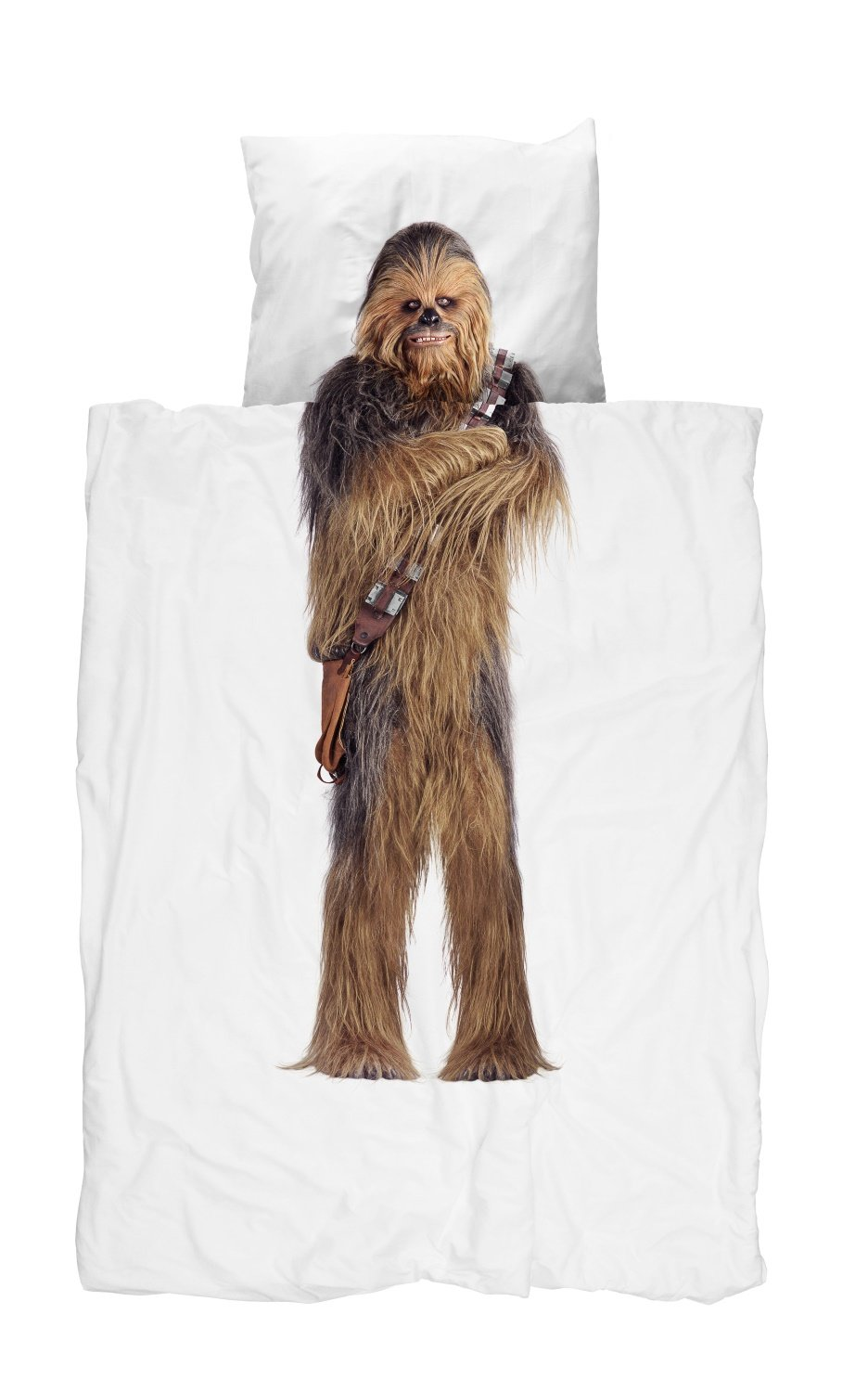 Bettwäsche Starwars Snurk Star Wars Chewbacca Bettwäsche-set 135x200 Cm