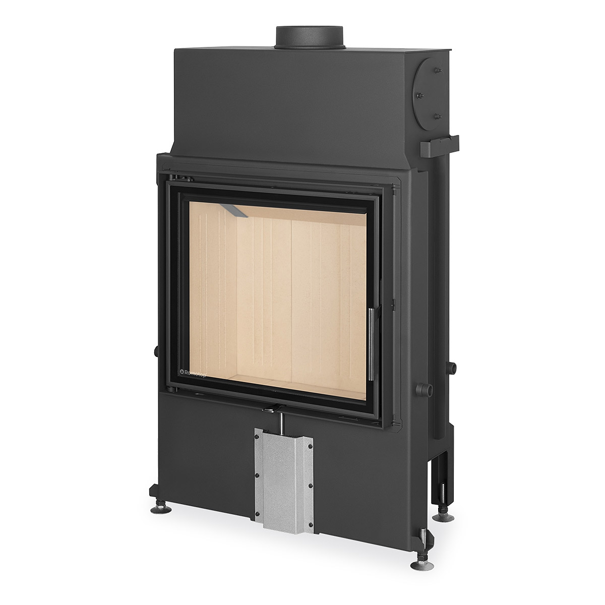 Insert Double Combustion Impression 2g 67 60 01 Fireplace Insert With Double Glazing