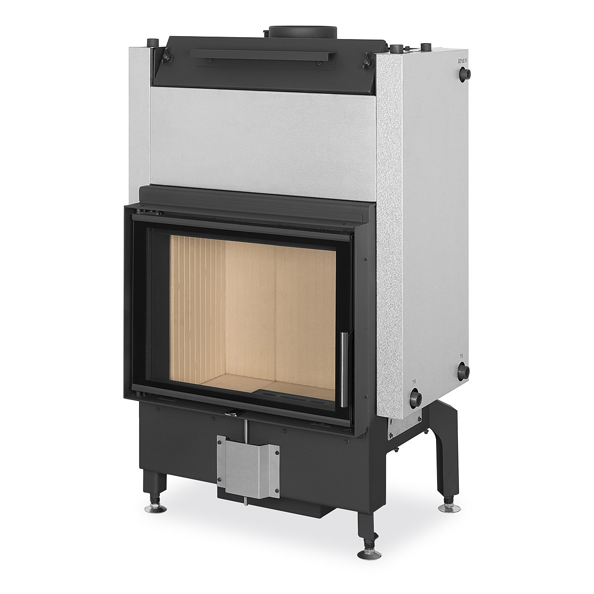 Insert Double Combustion Dynamic W 2g 66 50 01 Fireplace Insert With Double Glazing And