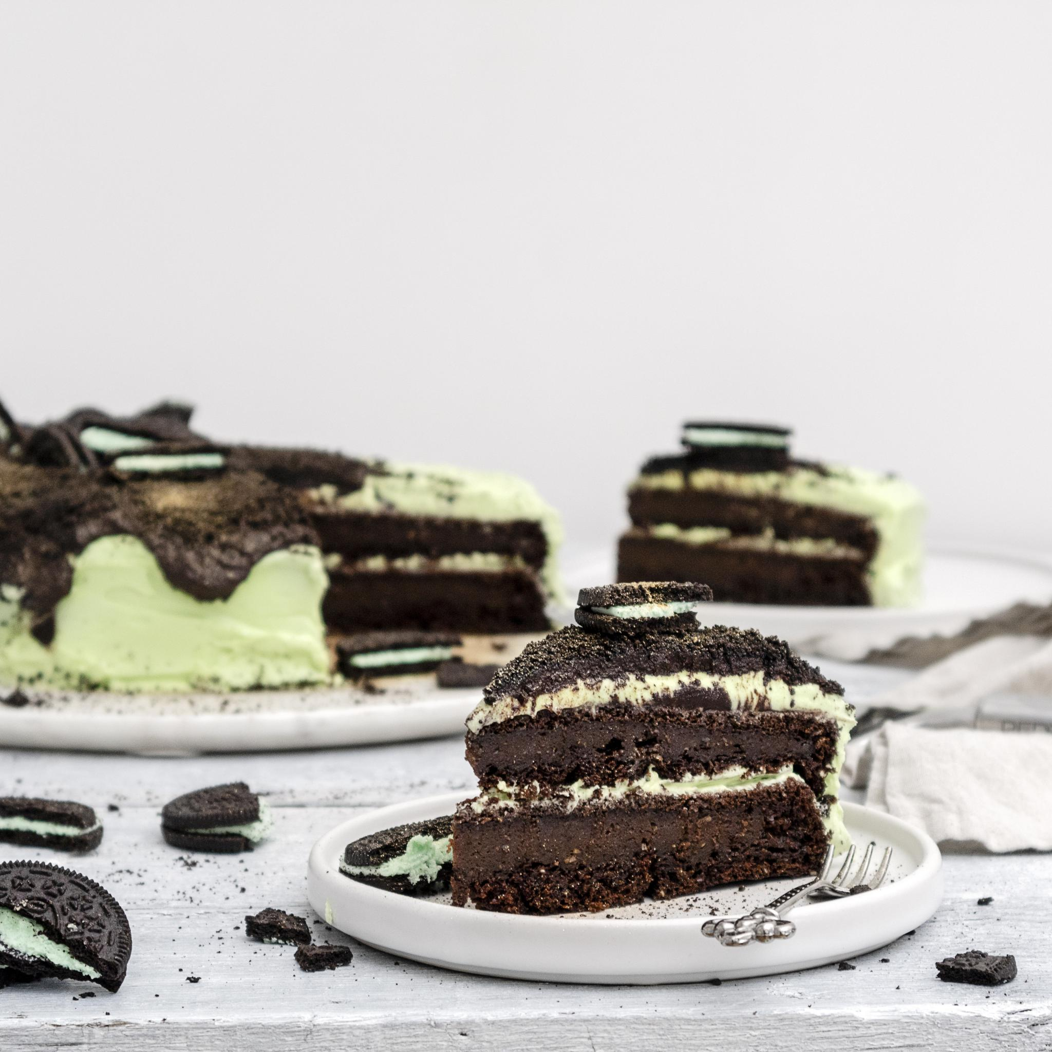 Vegane Oreo Torte Vegan Chocolate Mint Oreo Cake Recipe Romy London