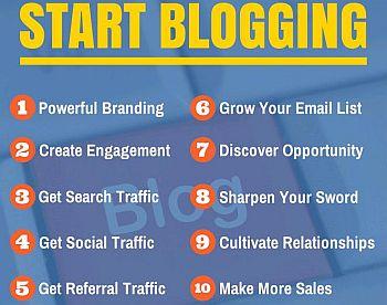 10 reasons to start blogging