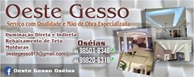 Oeste Gesso – Home0