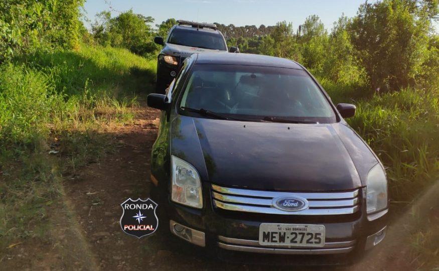 Veículo de São Domingos furtado durante a madrugada é localizado no interior de Abelardo Luz