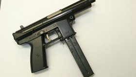 Fake Gun, Semi Automatic Submachine Gun
