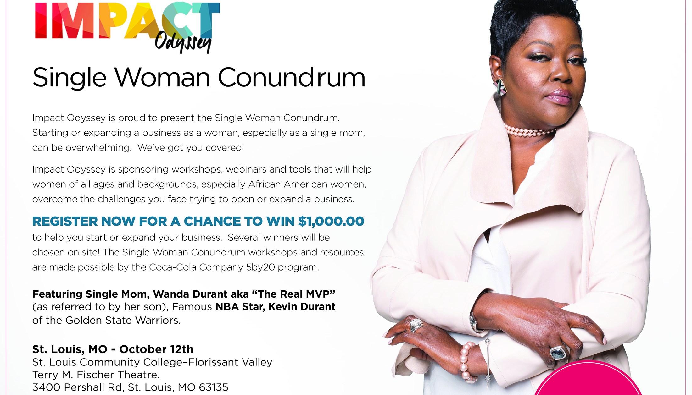 Single Woman Conundrum