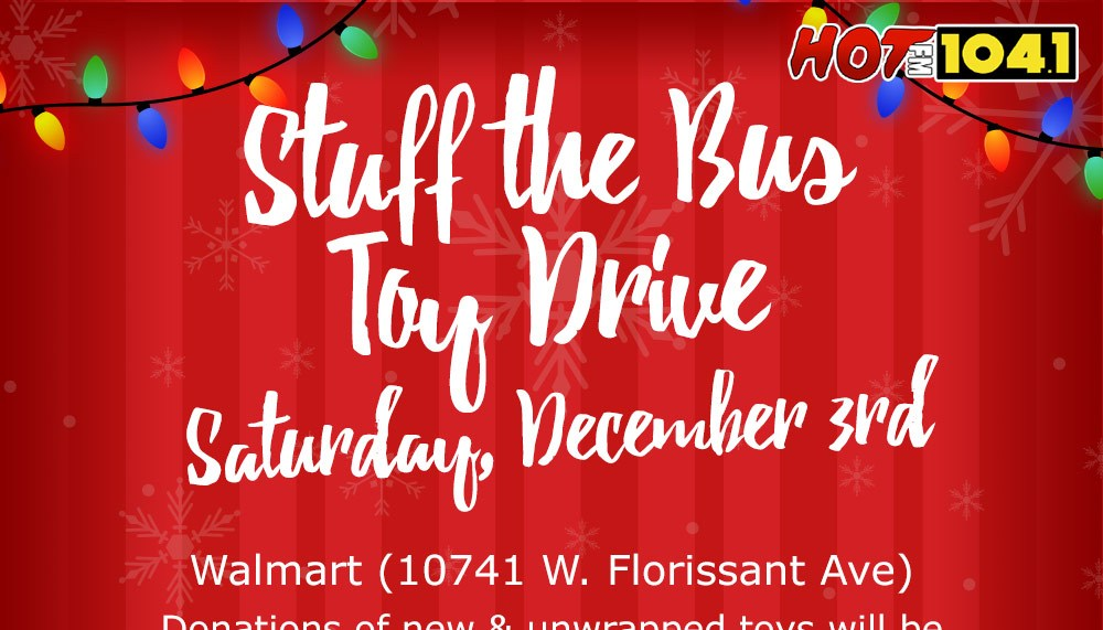 Stuff The Bus Toy Drive