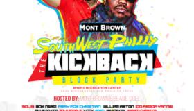 Mont Brown's Kickback Concert Flyer