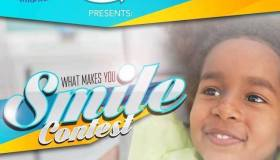 What Makes You Smile - Contest Flyer