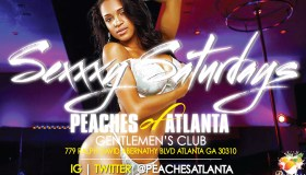 Sexxy Saturdays At Peaches - Client Provided