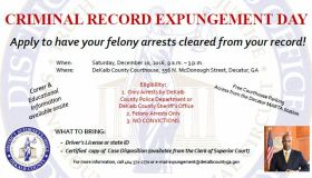 Criminal Record Expungement Day Updated