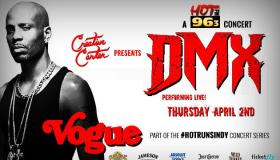 DMX at The Vogue DL