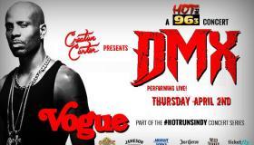 DMX at The Vogue DL