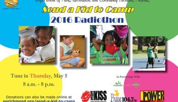 SEND A KID TO CAMP SUMMER FUN