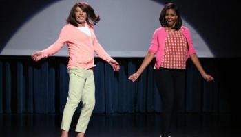 Michelle Obama & Jimmy Fallon