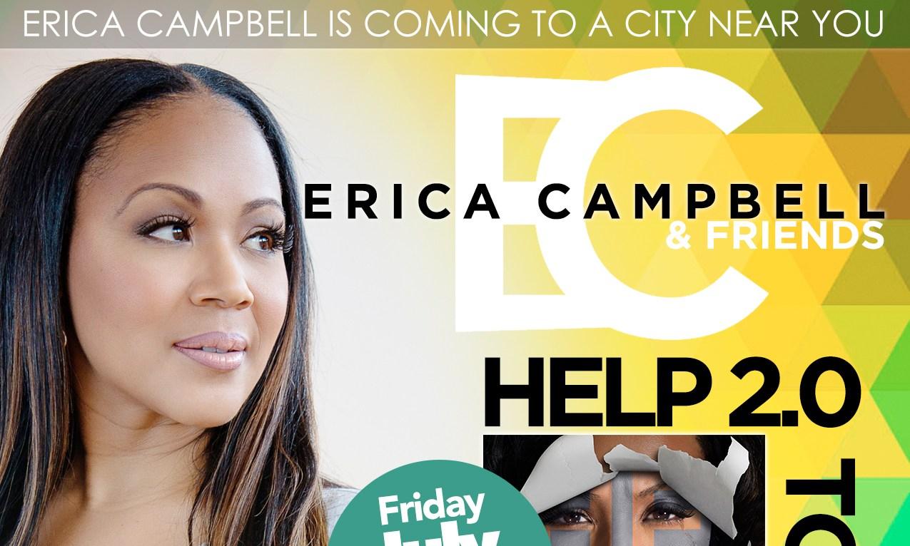 Erica Campbell concert