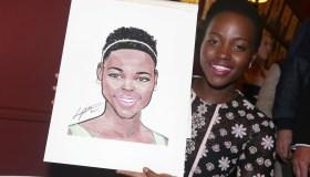 Lupita Nyong'o Caricature Unveiling