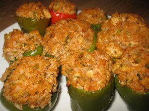 New Orleans Style Stuffed Bell Peppers | Majic 102.1