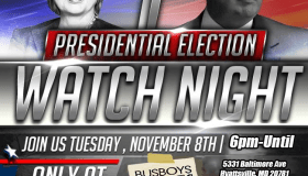 Busboys and Poets Election Night